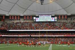 The UConn football team travels to northern New York to face Syracuse in the Carrier Dome on Saturday.