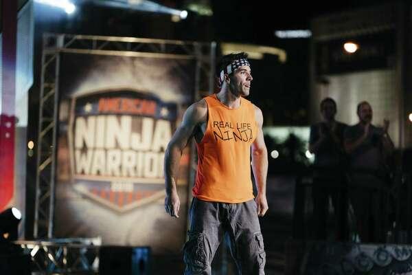 """Drew Dreschel competes on NBC's """"American Ninja Warrior."""""""