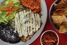 Enchiladas Verdes at Habanera and the Guero