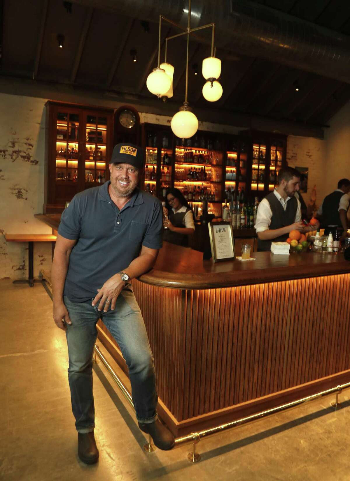 Atlanta-based chef/restaurateur Ford Fry has opened two new restaurants in Houston - La Lucha (shown) and Superica. Several of Ford's restaurant concepts, specifically La Lucha, are drawn from culinary memories of his Houston childhood.