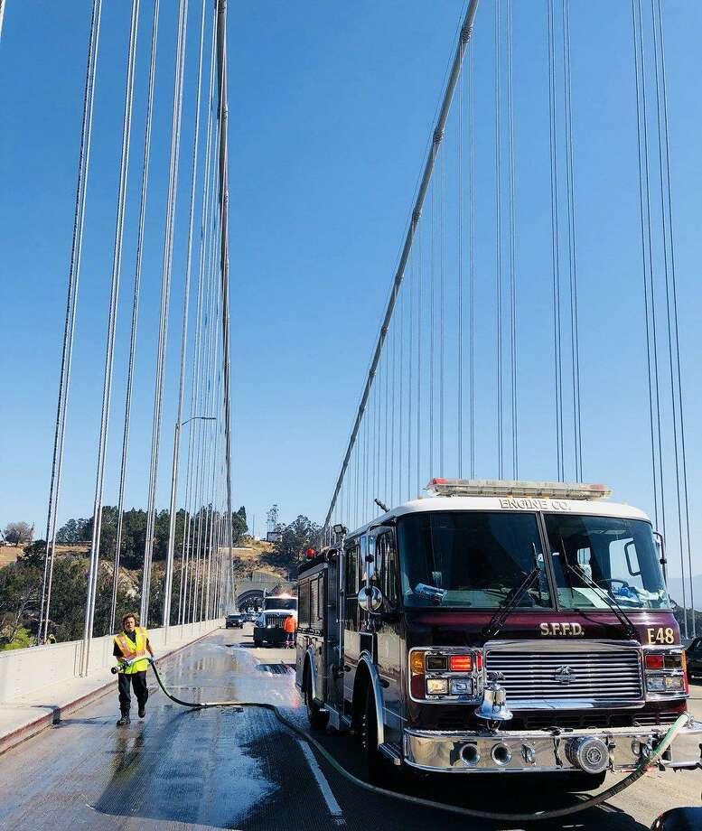 Motorcyclist Killed In Four-vehicle Crash On Bay Bridge