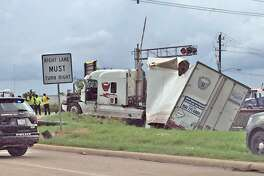 An Amtrak train crashed into a tractor-trailer and derailed Friday, Sept. 21. Missouri City Police were dispatched around 1:35 p.m. to the intersection of Cravens Road and U.S. Highway 90 to investigate the crash.