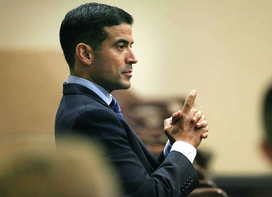Former Bexar County District Attorney Nico LaHood in court in 2018. A grievance committee with the State Bar of Texas found that Nico LaHood committed professional misconduct while he was in office. Photo: Bob Owen /San Antonio Express-News / ©2018 San Antonio Express-News