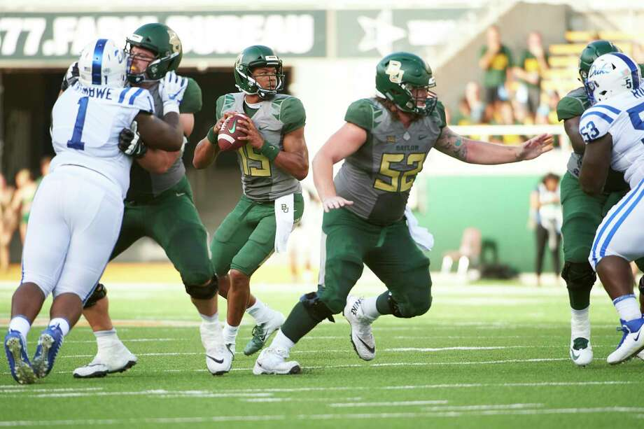 College Football Preview Kansas At Baylor Houston Chronicle