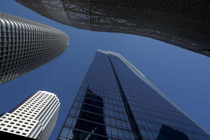 SAN FRANCISCO, CA - SEPTEMBER 10:  A view of the Millennium Tower on September 10, 2018 in San Francisco, California. A cracked window on the 36th floor of the beleaguered Millennium Tower in San Francisco is the latest problem for the tower that has sunk over 16 inches into the ground and is leaning more than two inches to the northwest. The 58-story, 419-residence building was completed in 2009.  (Photo by Justin Sullivan/Getty Images)