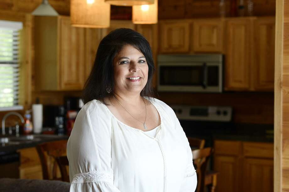 Kim Truax began using Airbnb to rent out a 1-bedroom cabin on her property after her daughter moved out. She originally planned to rent it occasionally but has been surprised by how busy it stays. 
