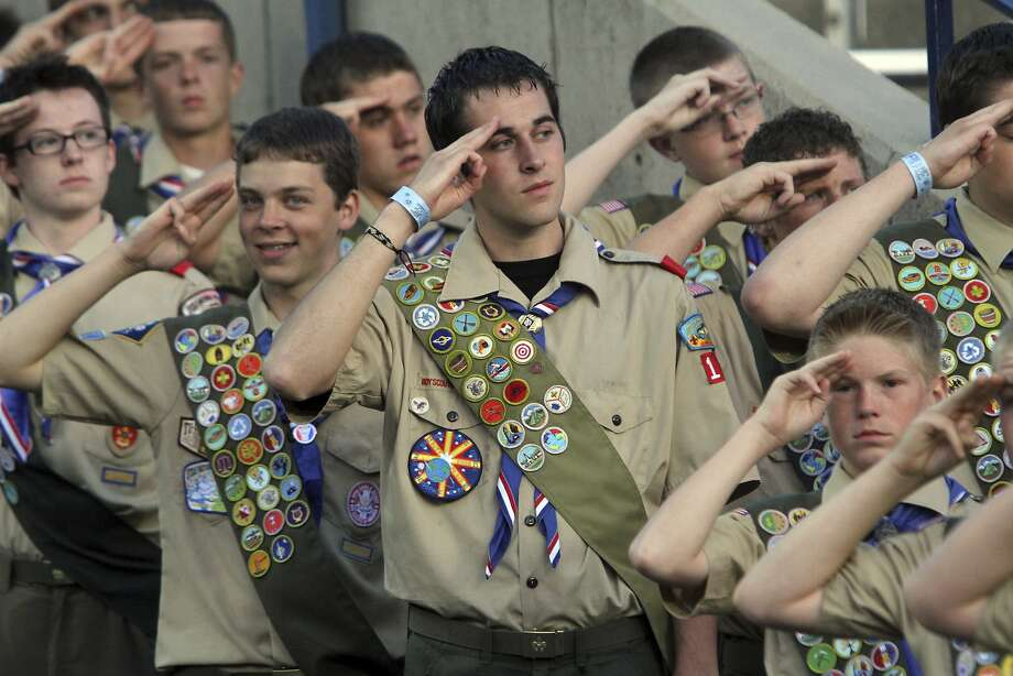 >>>See images of Boy Scouts through the years. Photo: Rick Egan, Associated Press