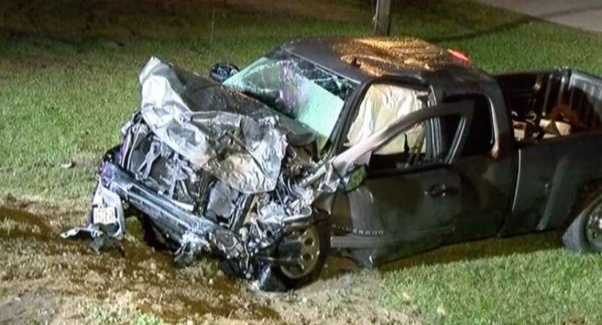 A Magnolia man was killed in this drunken-driving accident in December in Montgomery County.