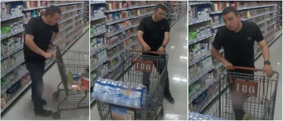 Laredo police said this man is wanted for allegedly making unauthorized purchases with a stolen Mastercard gift card. Photo: Courtesy