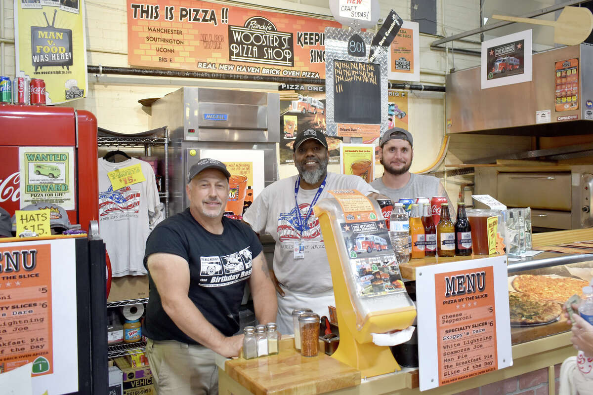 Randy's Wooster Street Pizza Shop inside the Connecticut Building at The Big E, on September 21, 2018.