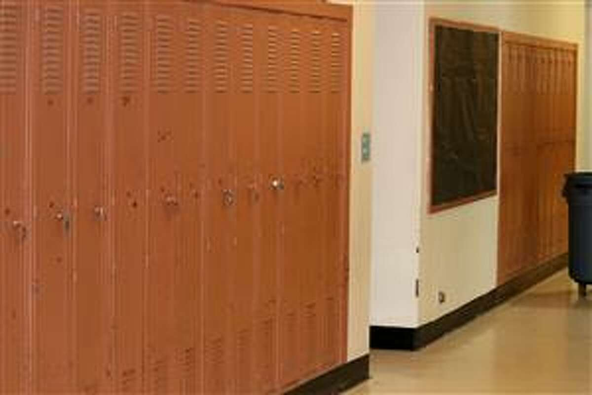 Ballston Spa school district voters will decide on a nearly $24 million improvement project that includes lockers in the Grove Street section of the Malta Avenue Elementary School. (Ballston Spa school district)