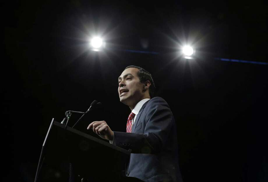 "Julian Castro told the Rolling Stone he's ""likely"" running for president in 2020. (AP Photo/Eric Gay) Photo: Eric Gay, STF / Associated Press / Copyright 2016 The Associated Press. All rights reserved. This material may not be published, broadcast, rewritten or redistribu"