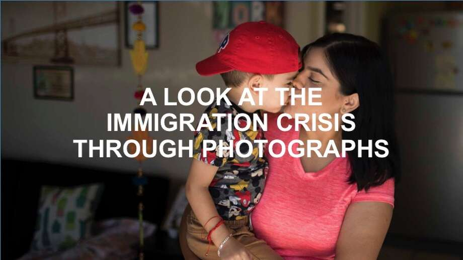 Take a look at the immigration crisis in the United States by clicking ahead. >>> Photo: Ivan Pierre Aguirre/San Antonio Express-News