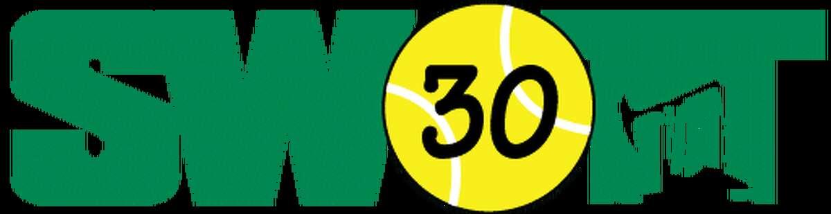 The logo for the 30th annual Southwest Oilman's Tennis Tournament.
