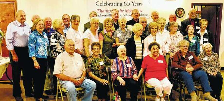 Members of Jacksonville High School's Class of 1953 celebrated its 65th anniversary with a reunion Sept. 15 at the VFW Hall in Jacksonville. Photo: Photo Provided