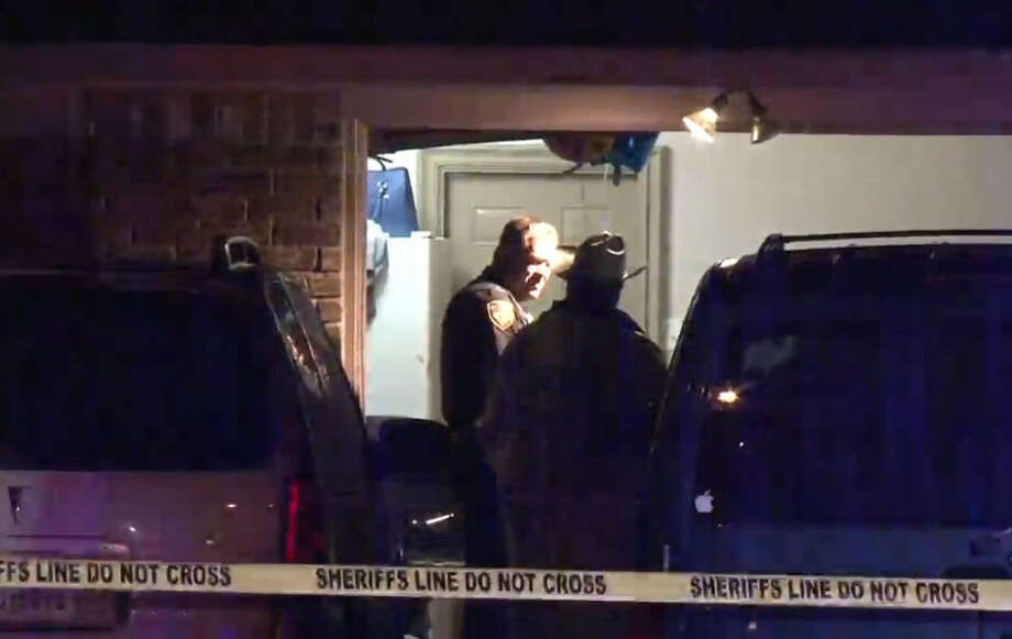 Two men were shot to death at a family birthday party early Sunday in northern Harris County. Photo: Metro Video