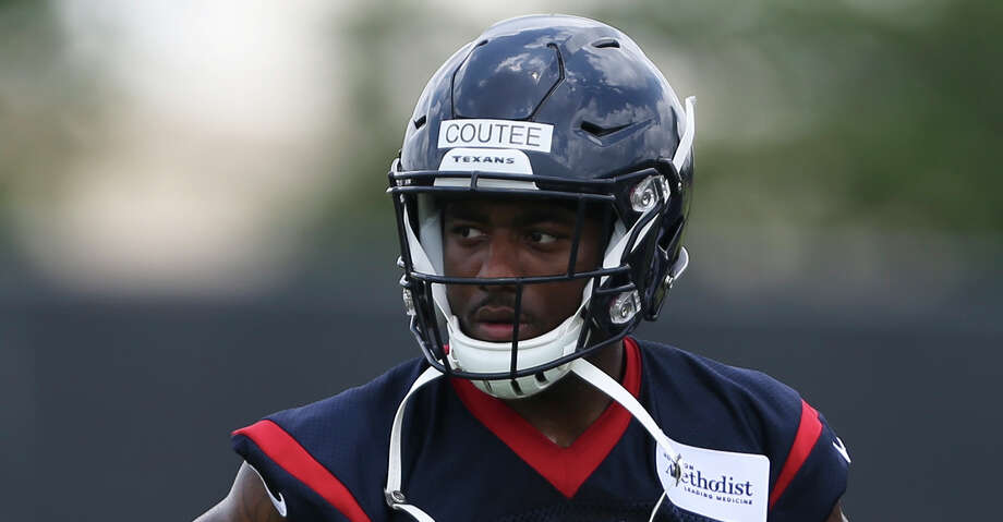 PHOTOS: Texans vs. Broncos  The Houston Texans rookie wide receiver Keke Coutee is photographed between training drills at the 2018 Houston Texans Rookie Minicamp on Saturday, May 12, 2018, in Houston. ( Yi-Chin Lee / Houston Chronicle ) >>>See more photos from the Texans' win over the Broncos on Sunday, Nov. 4, 2018 ...  Photo: Yi-Chin Lee/Houston Chronicle / © 2018 Houston Chronicle