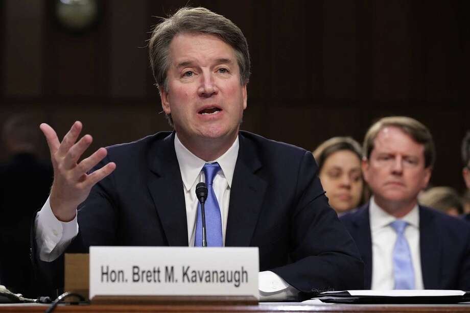 Supreme Court nominee Judge Brett Kavanaugh has created a firestorm of discussion concerning victims' rights and sexual misconduct committed as a young person. The outcome of his hearing will set a precedent. Photo: Chip Somodevilla, Staff / Getty Images / 2018 Getty Images