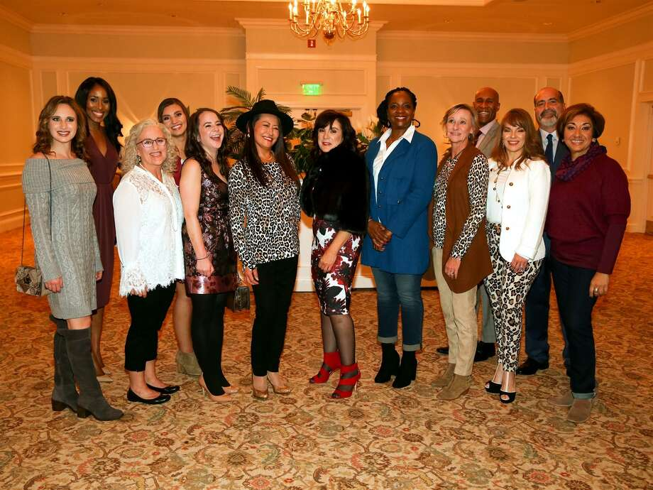 Models at the 2017 Bridgeport Hospital Auxiliary fashion show. Photo: Contributed / Bridgeport Hospital
