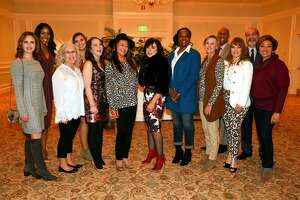 Models at the 2017 Bridgeport Hospital Auxiliary fashion show.