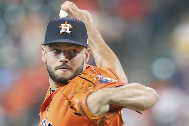 Houston Astros starting pitcher Lance McCullers Jr. (43) pitches in the first inning against the Chicago White Sox at the Minute Maid Park on Friday, July 6, 2018 in Houston. (Elizabeth Conley/Houston Chronicle)