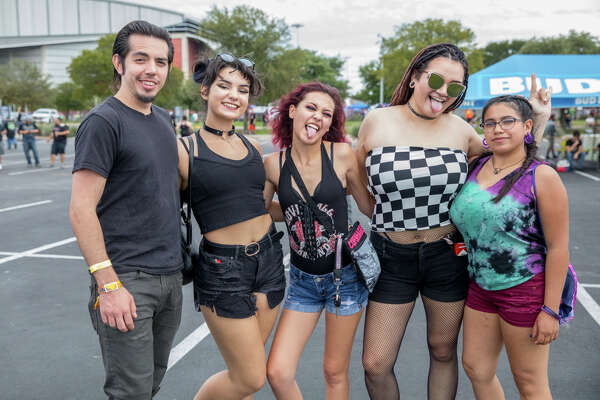 San Antonio rock fans enjoyed live performance from three stages at the 2018 Bud Light River City Rockfest on Saturday, Sept. 22, 2018 at the AT&T Center grounds.