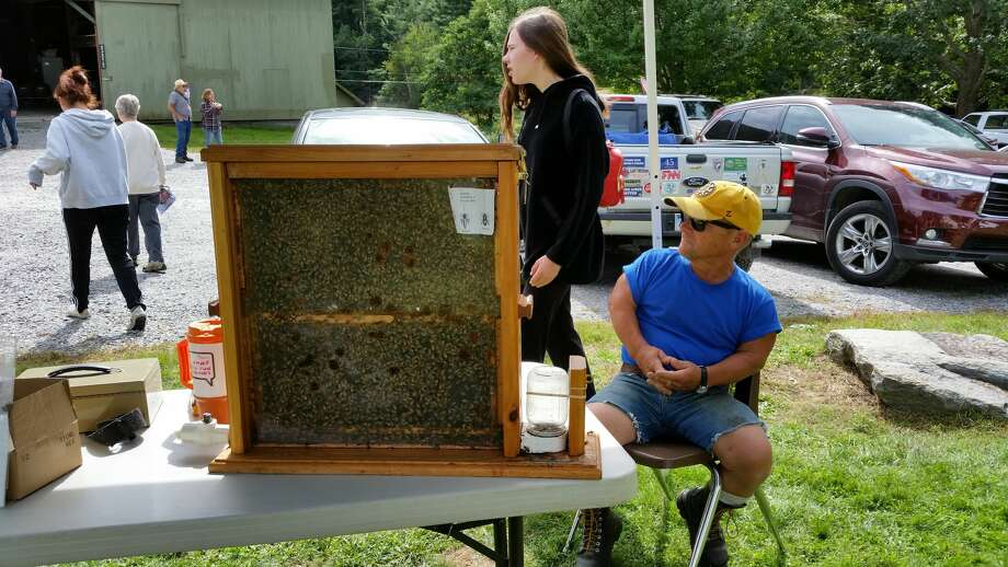 White Memorial Conservation Center in Litchfield held its 37th annual Family Nature Day, Saturday, Sept. 22, 2018. More than 1,500 children and adults came to explore the center, participate in activities, meet visiting animal rescue and educational groups, shop and enjoy a day outdoors. Photo: NF Ambery
