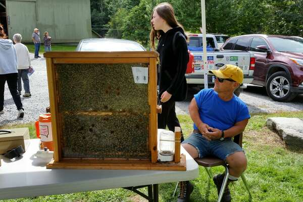 White Memorial Conservation Center in Litchfield held its 37th annual Family Nature Day, Saturday, Sept. 22, 2018. More than 1,500 children and adults came to explore the center, participate in activities, meet visiting animal rescue and educational groups, shop and enjoy a day outdoors.