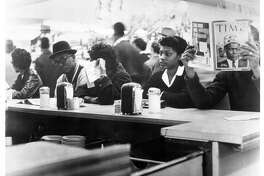 "Texas Southern University students sit-in at Weingarten supermarket located at 4110 Almeda in Houston in 1960. It's said that change is hard. Some Southerners certainly found it ""hard,"" but that doesn't make it bad."