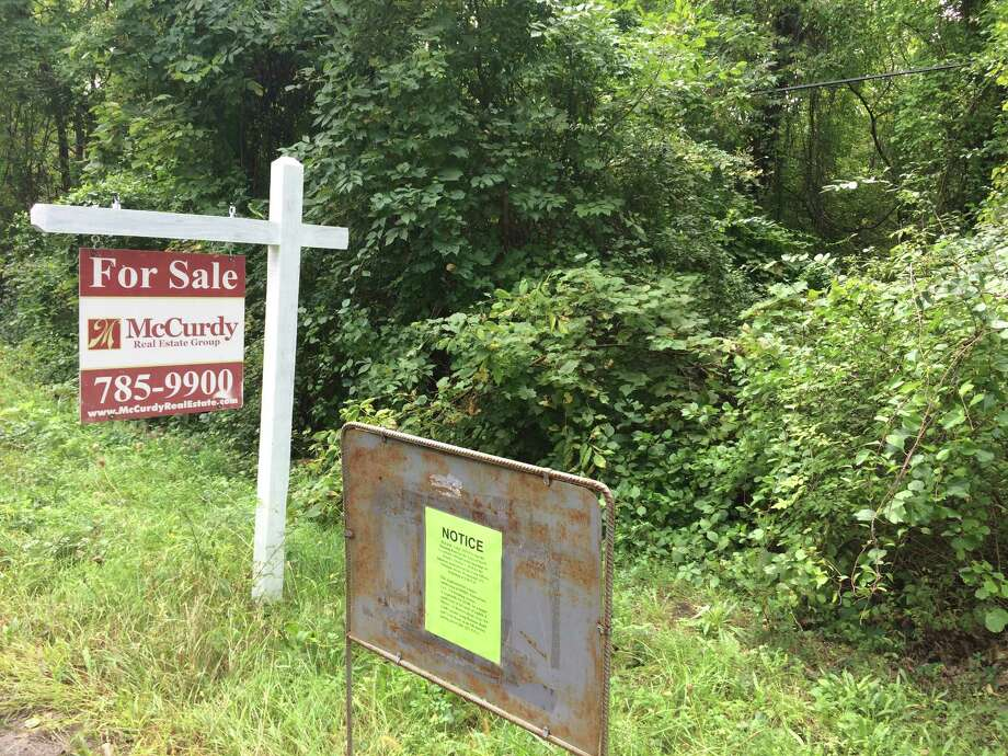 Property on North Road seen Sept. 20, 2018 that is being proposed for development by the Town of North Greenbush's building coordinator, Michael Miner. (Lauren Stanforth/Times Union)