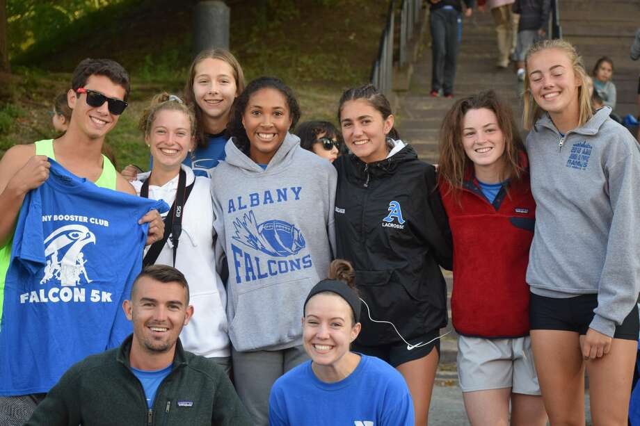 Were you Seen at the Albany Booster Club's Falcon 5K & Fun Run in Washington Park in Albany on Sunday, Sept. 23, 2018? Photo: Diane Wilson