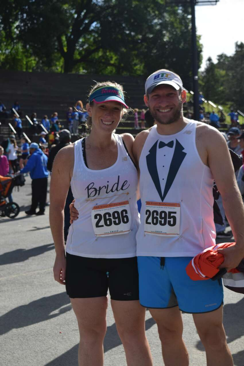 Were you Seen at the Albany Booster Club's Falcon 5K & Fun Run in Washington Park in Albany on Sunday, Sept. 23, 2018?