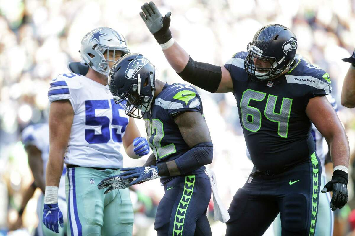 J.R. Sweezy, guard  Free agent year: 2018  A member of the Seahawks' Super Bowl teams in 2013 and 2014, Sweezy re-signed with Seattle last August after getting waived by the Tampa Bay Buccaneers. Bringing Sweezy back in the fold turned out to be a big-time move for the Seahawks. He posted one of the best seasons of his career and was named a Pro Bowl alternate at guard, playing a critical role in the rejuvenation of Seattle's offensive line. Like Fluker, he embodies the toughness that Pete Carroll loves. Sweezy played in the wild-card game against the Cowboys with a broken foot.
