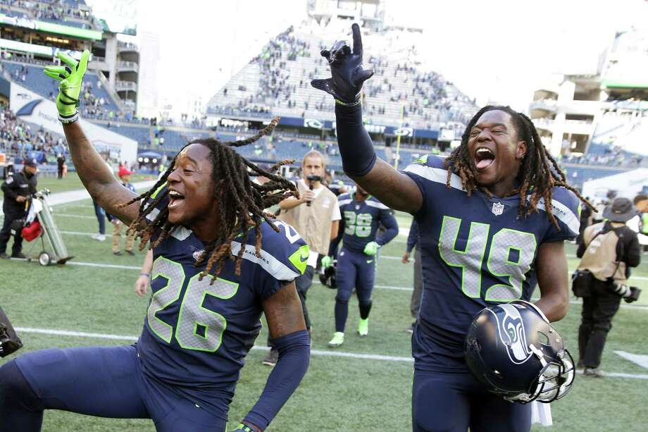Shaquem and Shaquill Griffin of the Seattle Seahawks have been named the spring 2020 commencement speakers for the University of Central Florida, their alma mater. Photo: GENNA MARTIN, SEATTLEPI.COM / SEATTLEPI.COM