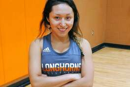 United Lady Longhorns libero, Alicia Velazco.