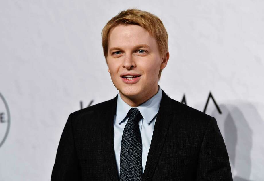 FILE - In this April 13, 2018 file photo, Ronan Farrow attends Variety's Power of Women event in New York. NBC's news chairman has sent an exhaustive defense of the network's handling of Farrow's investigation of Harvey Weinstein to his staff members, saying any speculation that the disgraced Hollywood mogul had any role in the network's rejection of the story was baseless. NBC's decision not to air a story became an embarrassment, and returned to the news last week when Farrow's former producer publicly criticized the network. (Photo by Evan Agostini/Invision/AP, File) Photo: Evan Agostini / Invision