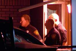 Police said they responded to a shooting call around 4:45 a.m. in the 3800 block of Viewsite Drive.