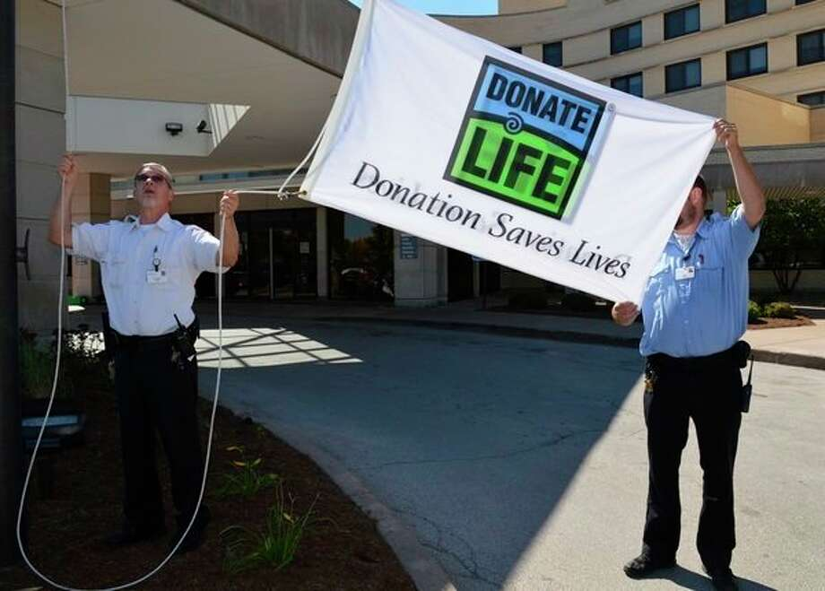 On Friday, Sept. 28, Gift of Life Michigan, Eversight, and Covenant HealthCare will host the annual Gift of Life flag raising ceremony at Covenant. (Photo provided/File)