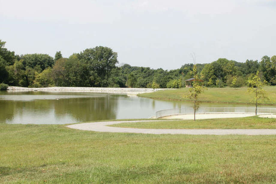 The lake at Schon Park. Photo: Intelligencer Photo
