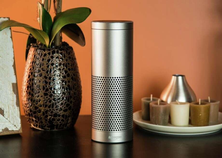 The Amazon Echo Plus. Photo: CBSI/CNET