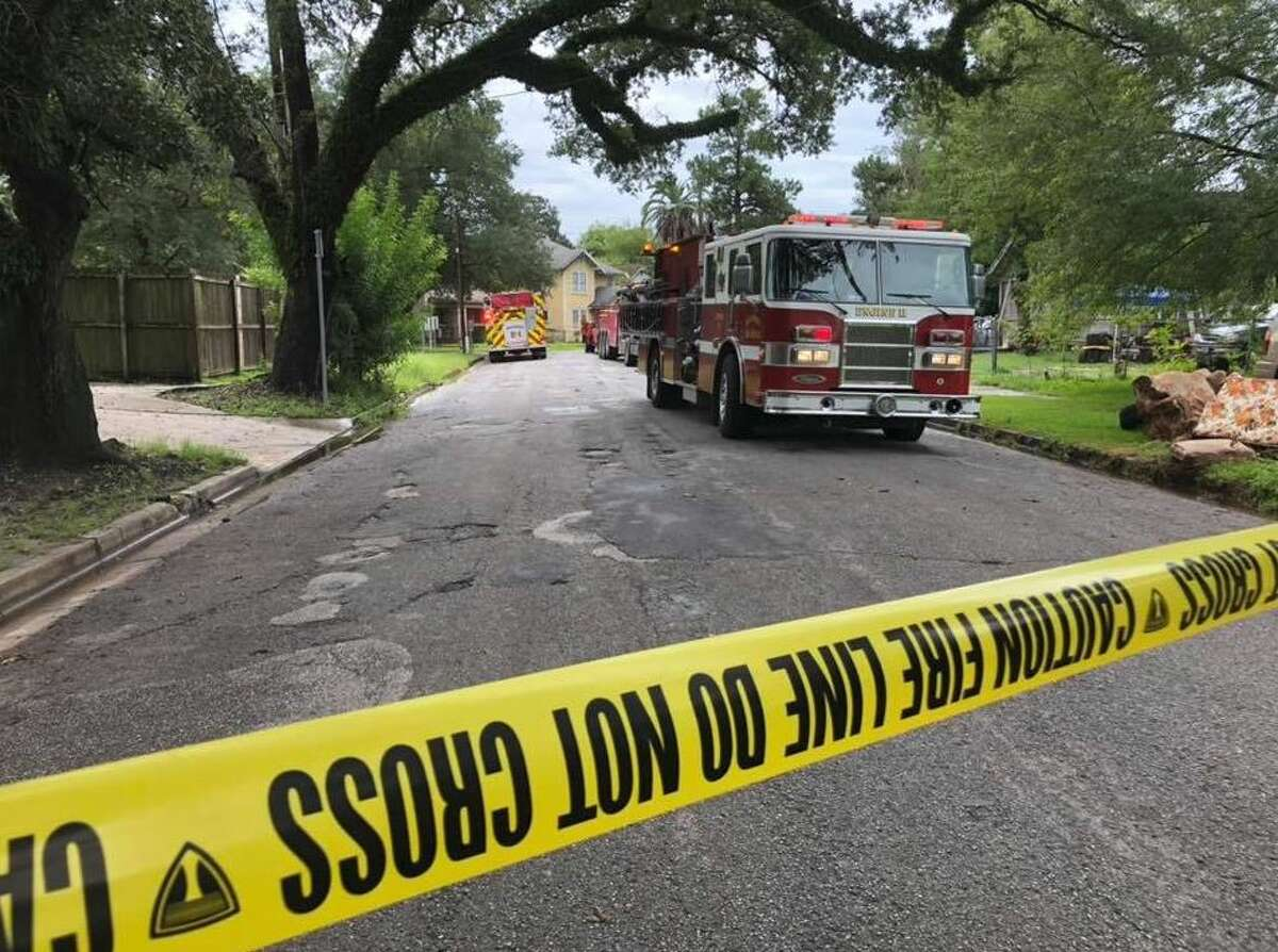 A tree and 18-wheeler crash on Easy and Irma Sunday, 9/23 Beaumont Fire Department