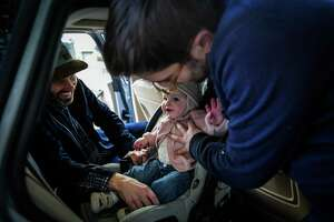"""In the November issue of the journal """"Pediatrics"""" — published online in August — the AAP recommended children remain in a rear-facing car safety seat as long as possible, until they reach the highest weight or height allowed by their seat. Previously, the academy recommended children should remain rear-facing at least to age 2. The new recommendation removes the specific age milestone."""