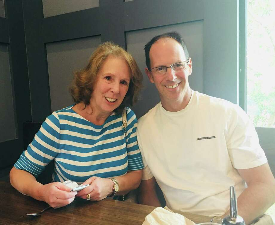 Rodney Rideout and his biological mother. Photo: /contributed Photo