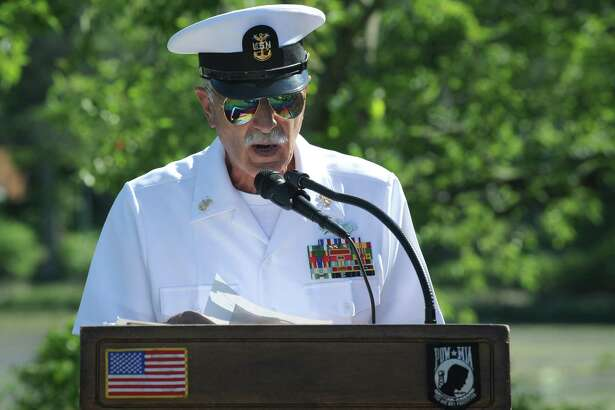 Commander Richard Iannucci of Port 5, National Association of Naval Veterans, is the grand marshal of the Columbus Day/Italian Heritage parade which will take place this year in downtown Shelton at noon on Oct. 7.