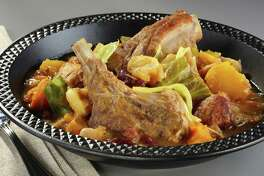 Cachupa rica is a hearty stew of root vegetables and rich meats that reflects its African origins, fused with Portuguese and South American influences.