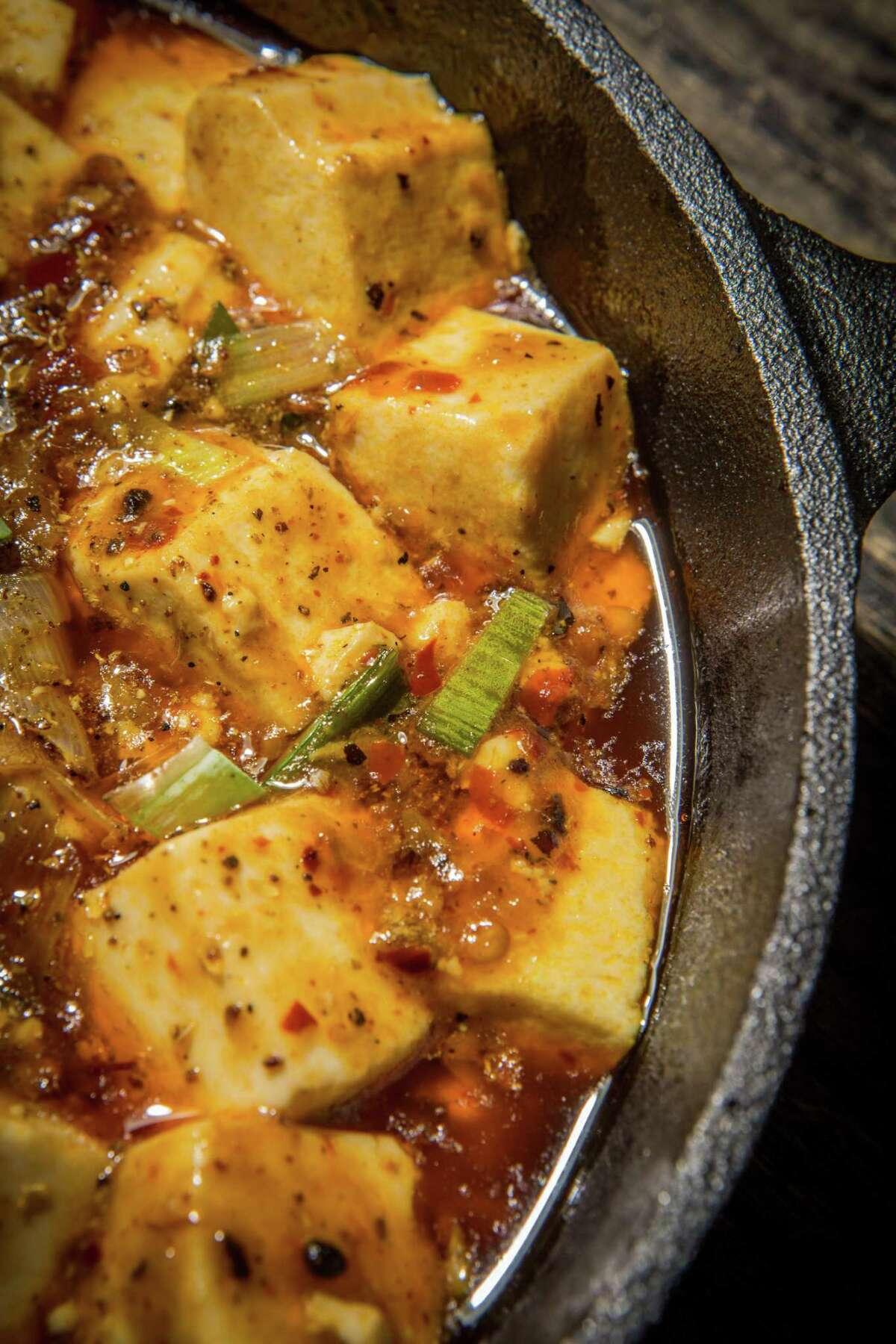 Mapo Tofu at Mala Sichuan Bistro.