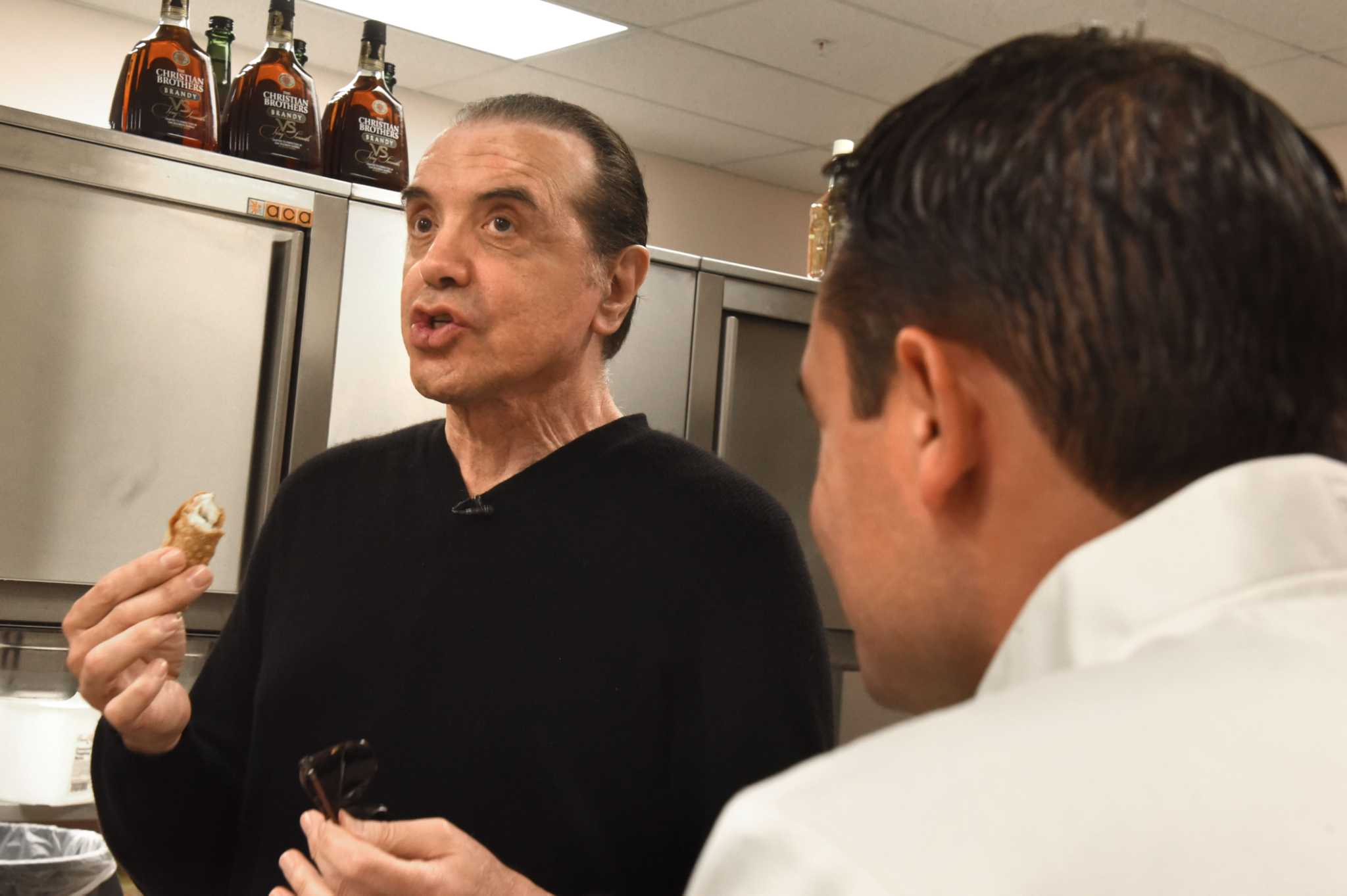 Chazz Palminteri learns to make cannoli in Schenectady - Times Union