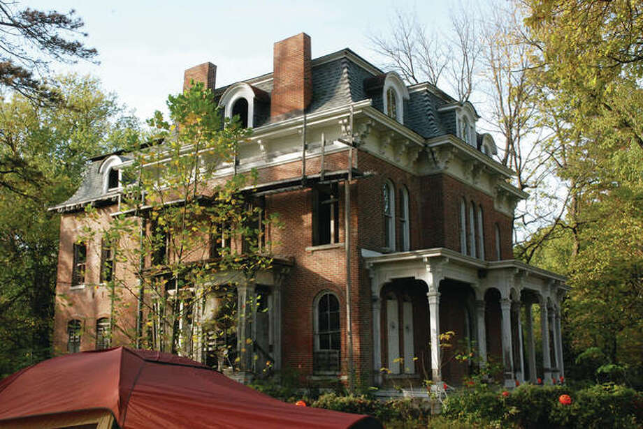 The McPike Mansion on Alby Street in Alton. Photo: Intelligencer Photo