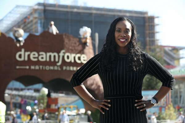 How Salesforce philanthropy chief Ebony Frelix connects with people