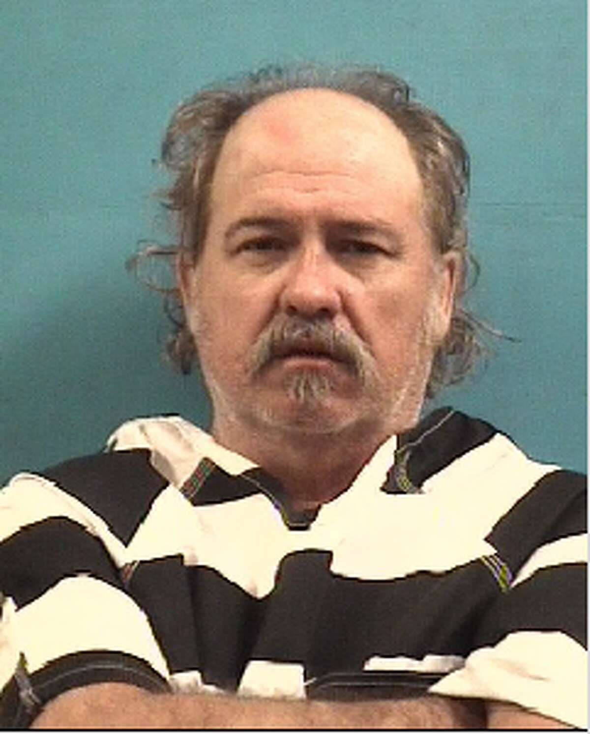 Richard Key, 55, was charged with murder after allegedly strangling his girlfriend's mother to death at their home in Pearland on Sept. 20, 2018.